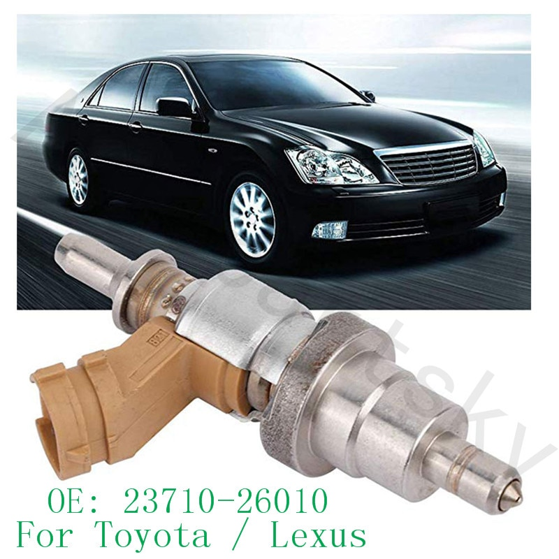 Alta calidad-23710-26010 23710-26011 23710-26012 inyector de combustible para Toyota Corolla Auris Avensis 1ADFTV Rav4 2ADFHV 2371026010
