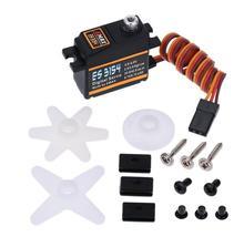 EMAX ES3054 version de mise à niveau des3154 17g-20G 3KG Servo numérique en métal pour voiture hélicoptère RC