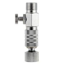 """Airbrush Werkzeug Zubehör Air Pinsel Koppler Stecker (Trennen) Airbrush Luftstrom Einstellung Regelventil Kupplung-1/8 """"BSP"""