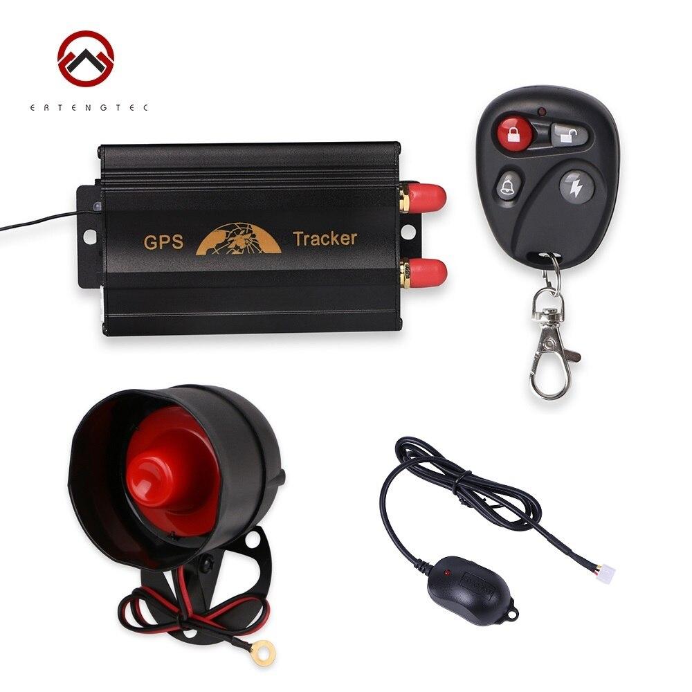 Rastreador GPS Coban TK103B GPS para coche localizador de motocicleta dispositivo de seguimiento de vehículos alarma de corte de aceite mando a distancia Control de agitación alarma