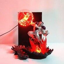 Bombilla freezer de Dragon Ball Z, lámpara de mesa, luces de noche, Bola de Dragón, Super freezer Kamehameha, lámpara para decoración de Navidad