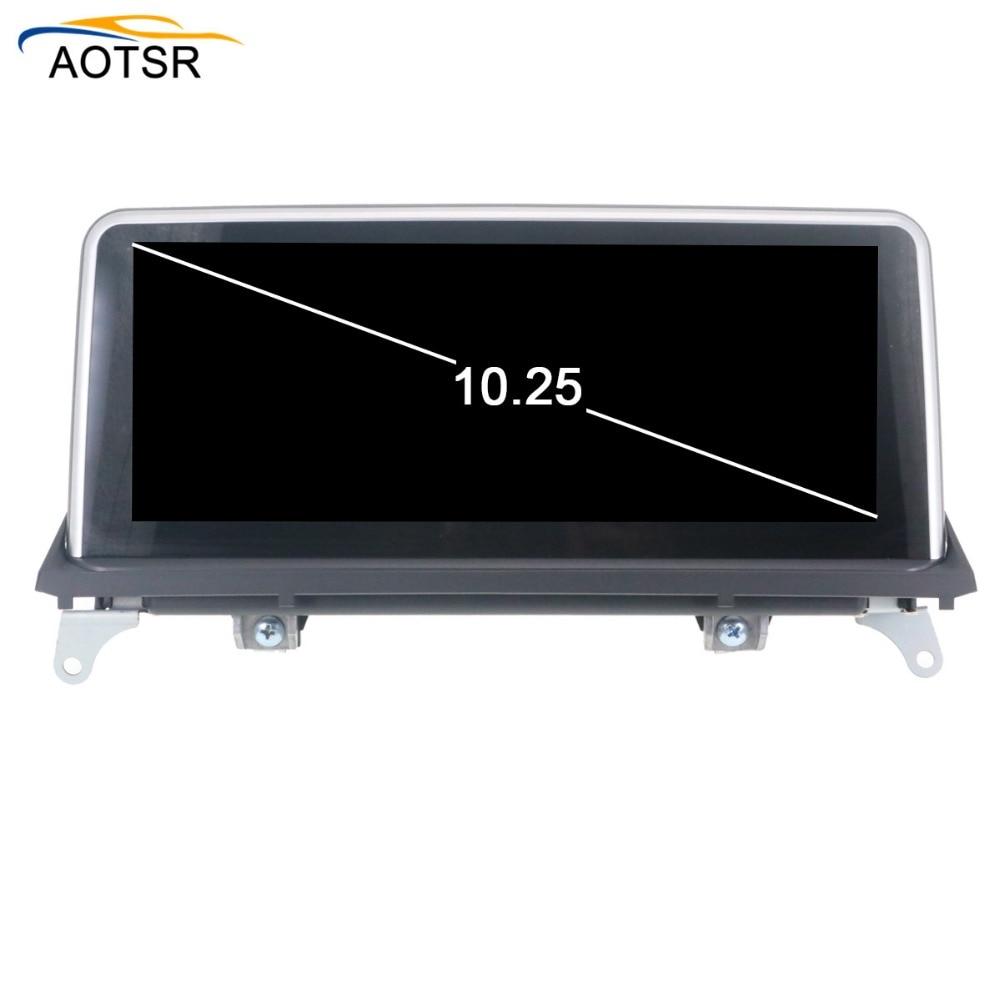 "10 ""großen Bildschirm Android Auto dvd-multimedia-player kopf einheit Für BMW X5 E70 F15 F85 X6 E71 F16 f86 GPS Navigation radio auto stereo"