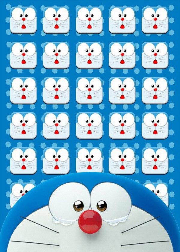 Doraemon-غطاء لحاف من جانب واحد ، أنيمي ، 150 × 210 سنتيمتر ، #39550