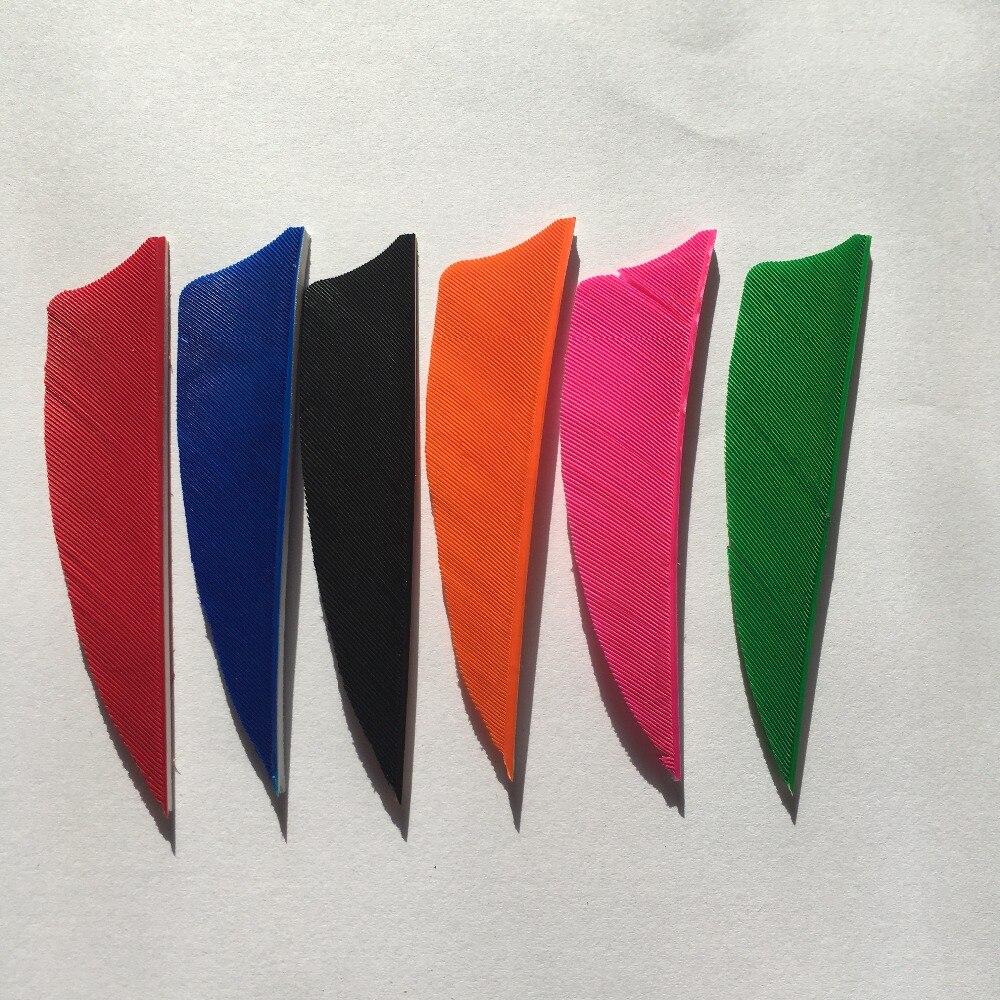 Для углеродного вала правого крыла 20 шт 5 дюймов Feath Shield Cut Форма стрельбы из лука традиционное перо стрела Флетчинг новый стиль