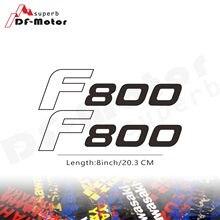 Autocollant réfléchissant pour BMW BMW F800 F 800 GS   Autocollant de casque de moto de 8 pouces pour voiture