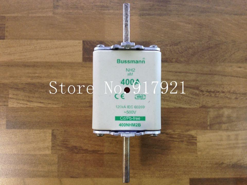 [ZOB] fusible original auténtico de los Estados Unidos Bussmann NH2aM 400NHM2B 400A 500 V