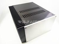 2515 Aluminum Single Radiator Enclosure Amplifier Chassis/ Preamp Case/ PSU Box