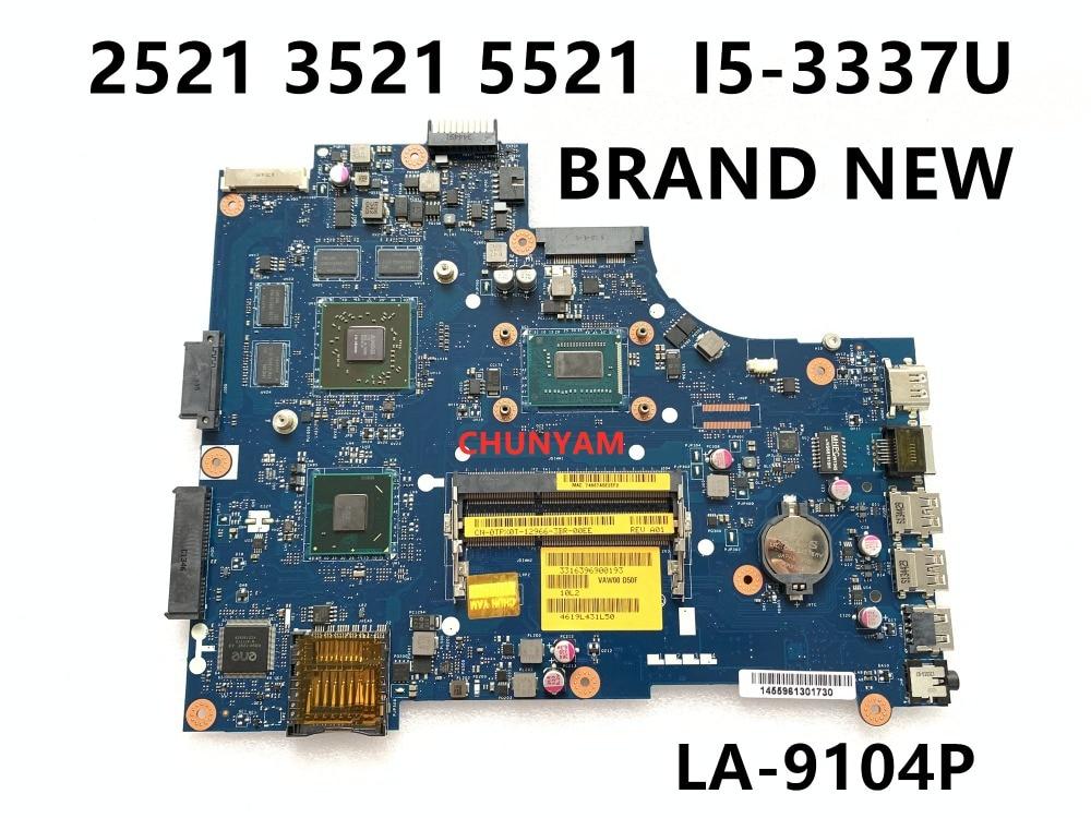 KEFU абсолютно новый LA-9104P I5-3337U для DELL INSPIRON 2521 3521 5521 материнская плата для ноутбука