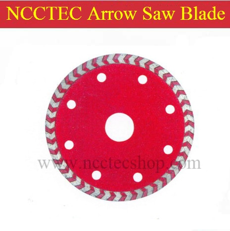 "5 ""cortadores de SETA de Diamante NCCTEC NSB5AT   125mm seta turbo lâmina de serra   FRETE grátis"