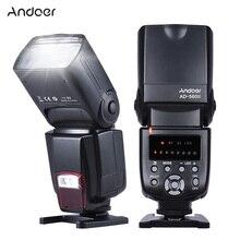 Andoer AD 560 II универсальная вспышка Speedlite w/беспроводной триггер вспышки для Canon Nikon Olympus Pentax DSLR камер вспышка