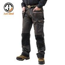2020 hommes Cargo pantalon décontracté Multi poche pantalon militaire tactique longue pleine longueur pantalon haute qualité grande taille ID626