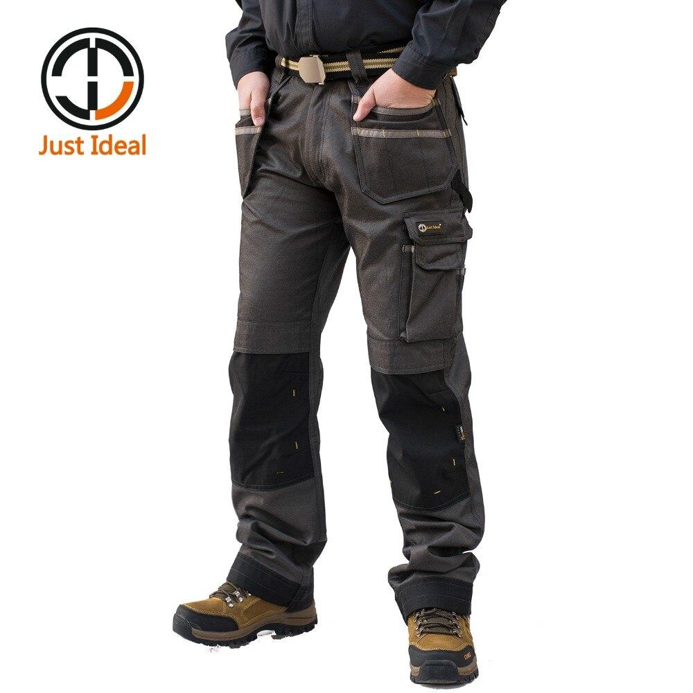 Pantalones Cargo para hombre 2020, pantalón militar de bolsillo múltiple, Pantalones largos larga, alta calidad, de talla grande ID626