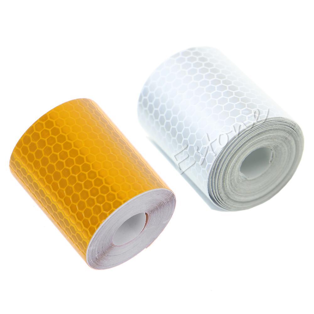 Venda Hot car styling colorida Reflexiva Segurança Aviso Conspicuity Tape Film Sticker 3 M Drop Shipping