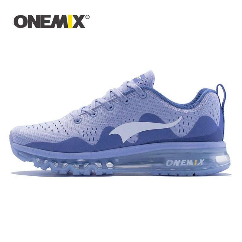 Zapatillas ONEMIX para hombre, zapatillas para correr, talla grande, transpirables, de malla, con amortiguación de aire, ligeras, para adiestramiento al aire libre, zapatillas para correr