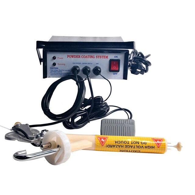 Sistema de recubrimiento en polvo pintura capa Portable con el envío rápido del tablero