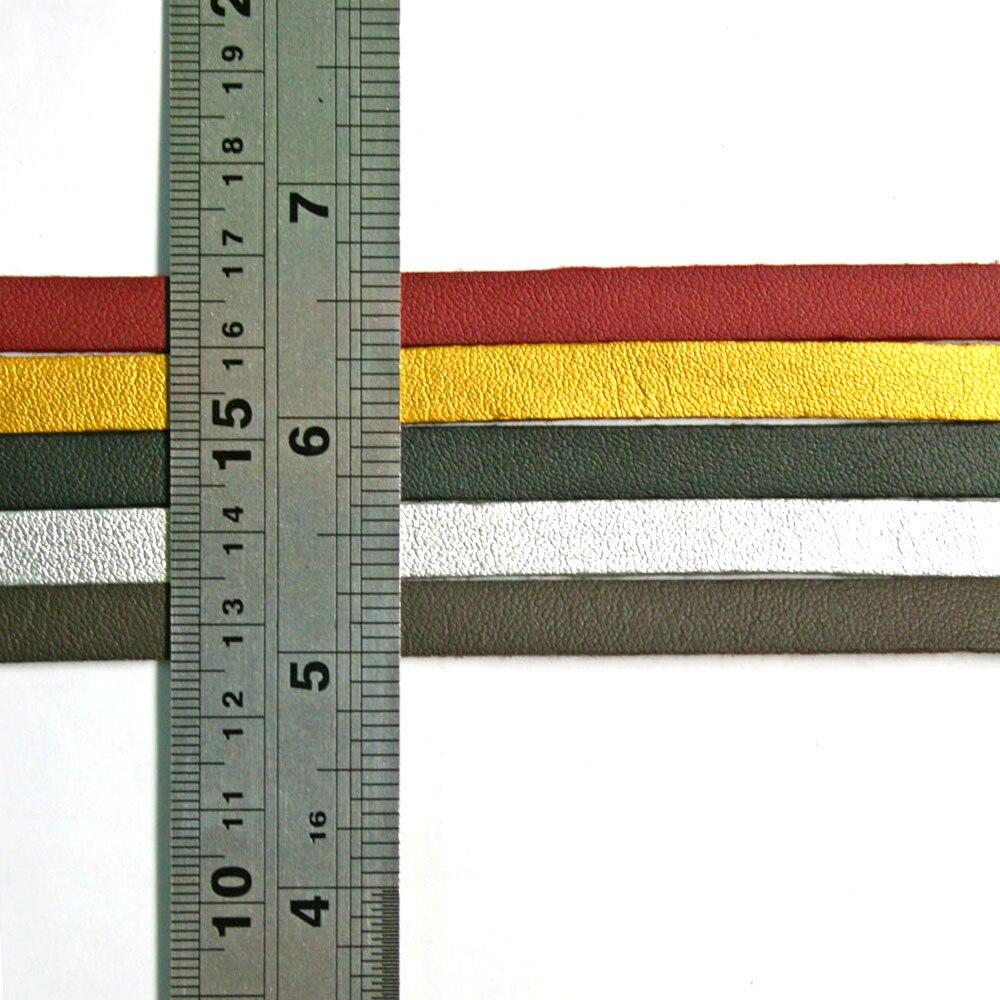 1 متر/قطعة * 100 قطع 8 ملليمتر شقة فو الجلد المدبوغ المخملية الحبل جلدية سلسلة مجوهرات الحبل الموضوع النتائج اللون يو بيك DH-FXU004-02