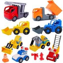 Pelle échelle pompier camion accessoires blocs de construction jouets éducatifs pour enfants Compatible avec Duploed bébé jouet enfants cadeau