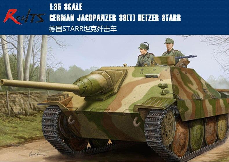 RealTS trompetista 05524 1/35 alemán Jagdpanzer 38 (t) Hetzer Starr