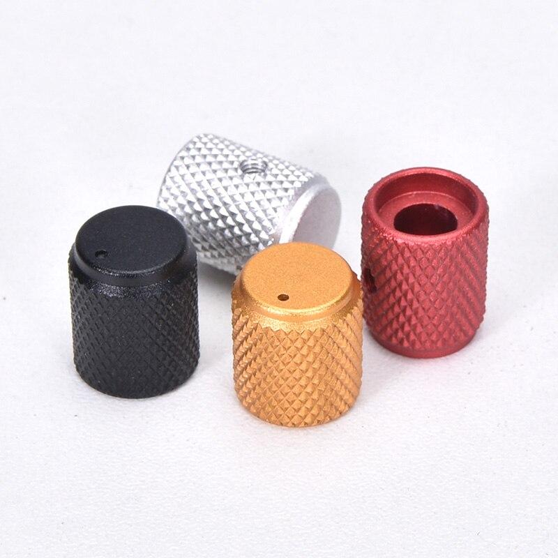 5 шт. Диаметр: 12 мм высота: 15 мм алюминиевая вращаемая Кнопка потенциометра громкости черный/серебристый/красный/золотой