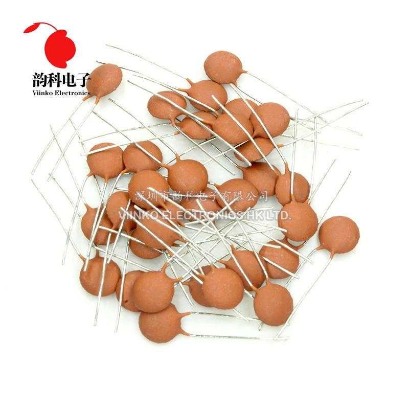 100 Uds condensador de cerámica 50V 56pF 68pF 82pF 100pF 120pF 150pF 180pF 220pF 300pF 330pF