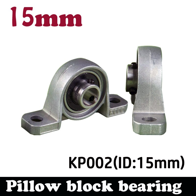 Новые Подшипники KP002 UCP002 P002 из сплава цинка, диаметр 15 мм