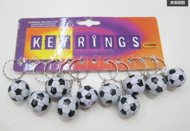 20 штук Футбольная сумка кулон пластик брелок футбольный мяч маленькие украшения Цепочка для ключей спортивные реклама сувениры Брелки Под...
