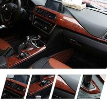 Autocollants en fiber de carbone film de couleur   Garnitures intérieures de voiture en vinyle, grain de bois/bois de pêche autocollant de voiture, matériau changeant