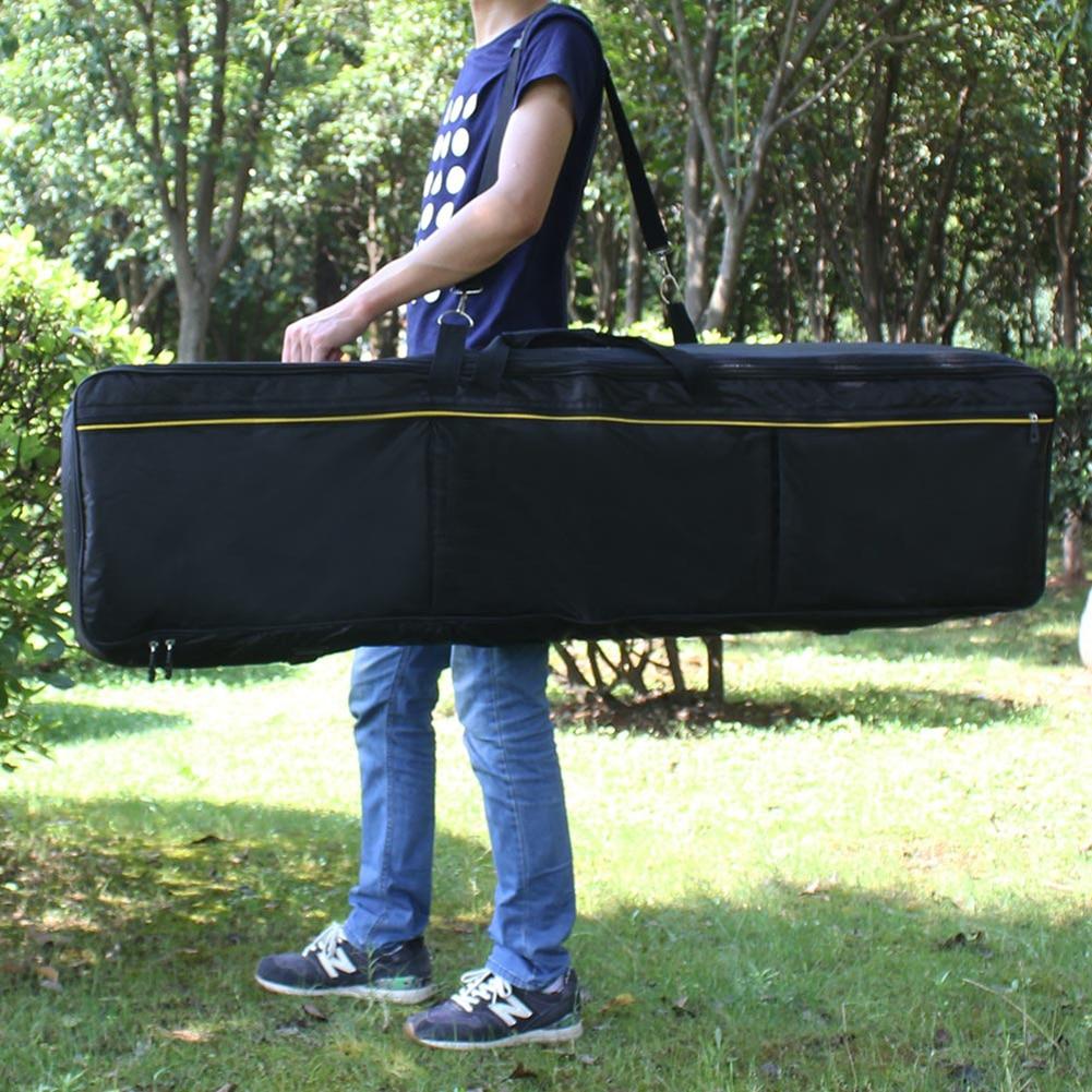 61 76 88 teclado de instrumento de llave, Bolsa Electrónica de Piano, engrosada cubierta, funda para Piano Electrónico