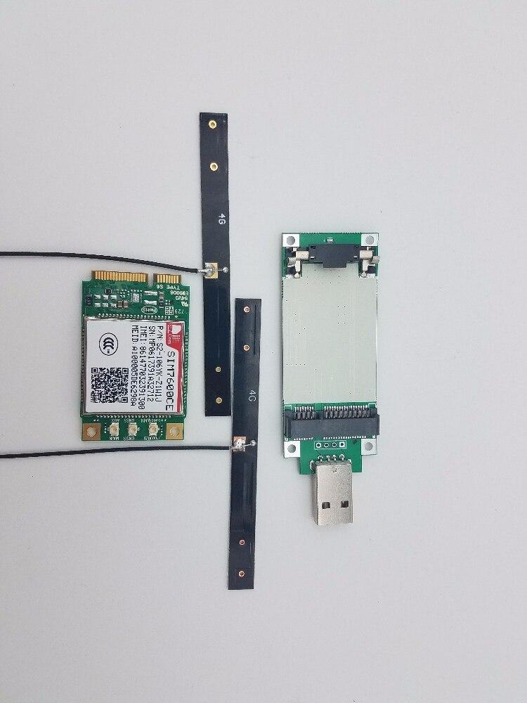sim7600ce mini pcie cartao de transferencia antena 4g lte 100 novo e original cat4