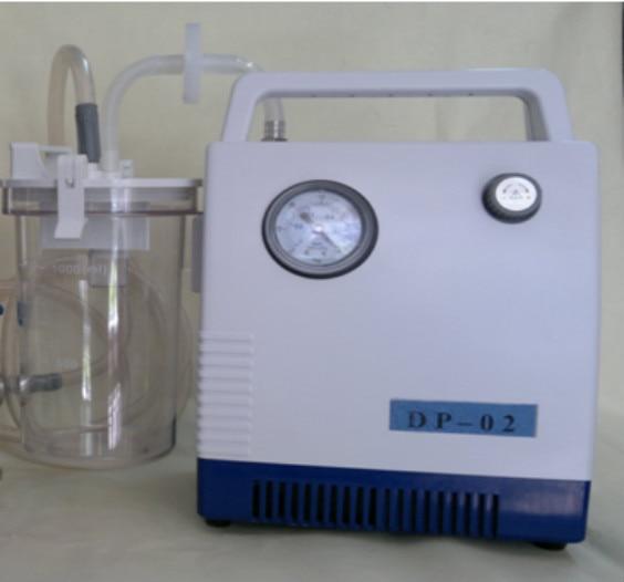 النفط مكبس نوع فراغ مضخة للمختبر ، DP-02 فراغ مضخة للكيمياء مختبر ، النفط شحن ضغط فراغ مضخة