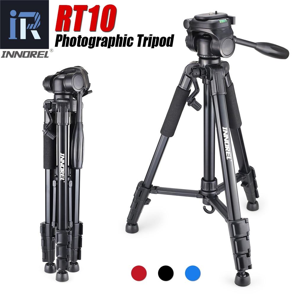 RT10 Aluminium Mini Portable Tripod for Digital DSLR camera Mirrorless light compact travel stand for Nikon Canon Sony