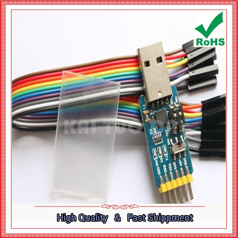 Usb para uart módulo de porta serial cp2102 usb ttl 485 232 recuperação de bloqueio (h5a3)