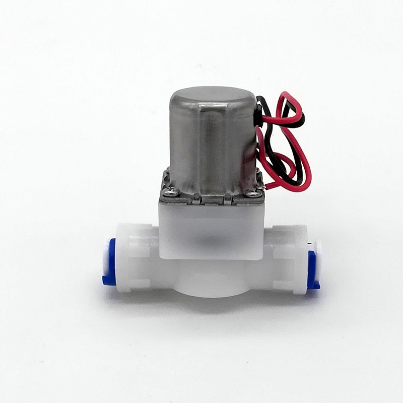 """1/4 """"Быстрый Push Intubation миниатюрный индукционный сантехника бистабильный контроль воды импульсный Соленоидный клапан, энергосберегающий клапан"""