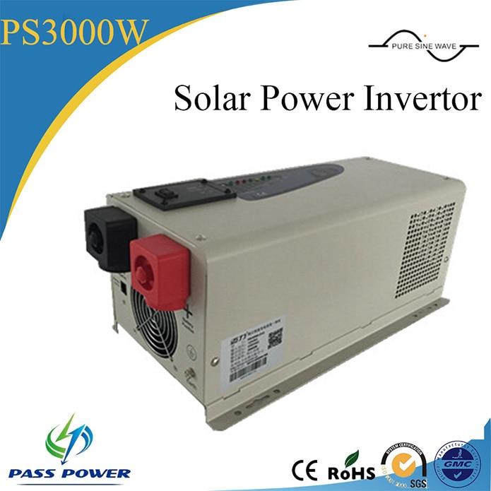Onduleurs dénergie solaire 3000W DC 12V/24V/48V   Prix pour onduleurs dénergie solaire