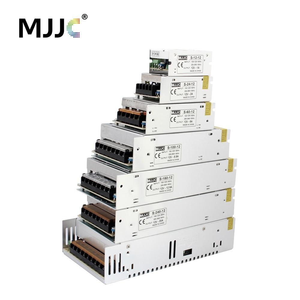 LED блок питания 12 В DC 1A 2A 5A 10A 15A 20A 30A 50A 70A 840 Вт коммутации Адаптеры питания supplys 110 В 220 В переменного тока до 12 вольт постоянного тока блок питан...