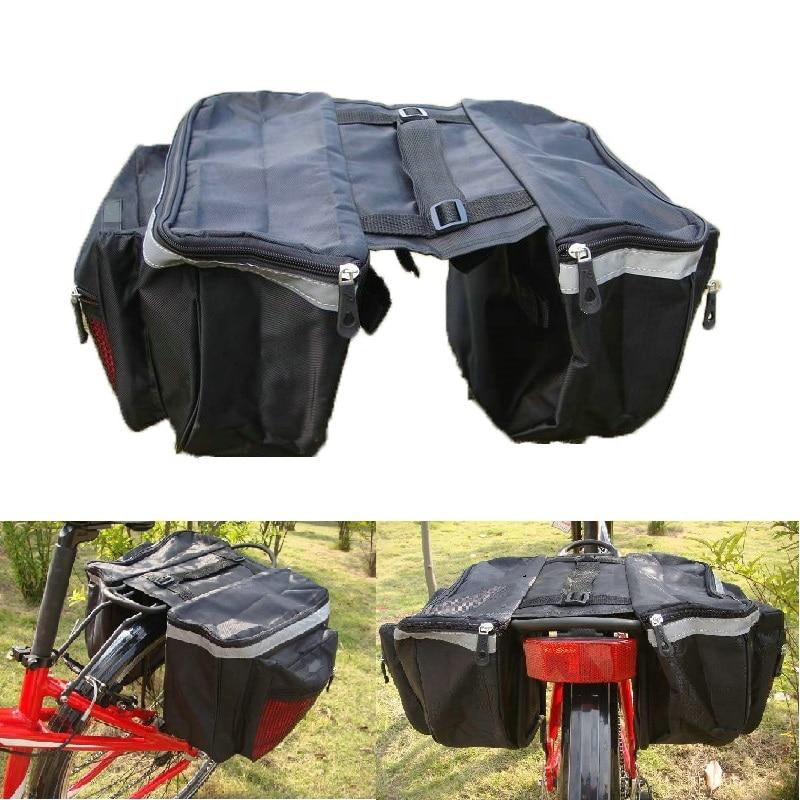 Bolsa de sillín para Bicicleta, accesorio multifunción para equipaje de Bicicleta de...