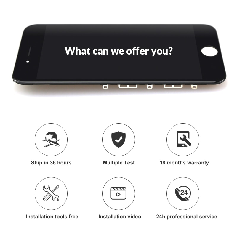 Premium  5PCS For iPhone 7 Plus LCD Display For Tianma With Touch Screen Digitizer 5.5 Inch For iphone LCD enlarge