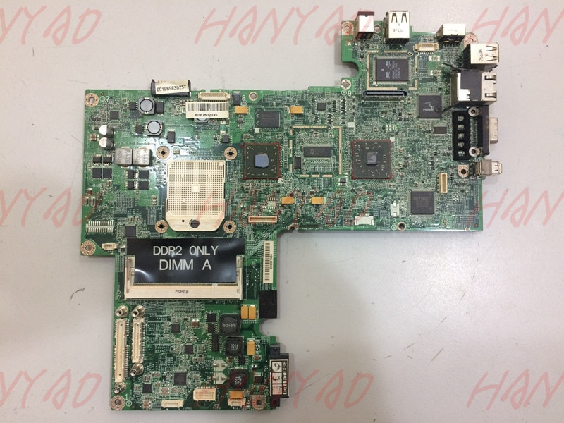 For Dell 1721 Laptop Motherboard MY554 ddr2 Fully tested Free shipping