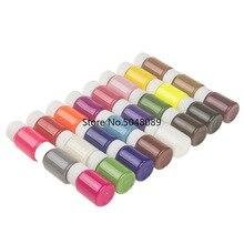 24 couleurs à choisir 20ml cuir bord huile cuir artisanat bricolage manuel en cuir bordure outils détanchéité