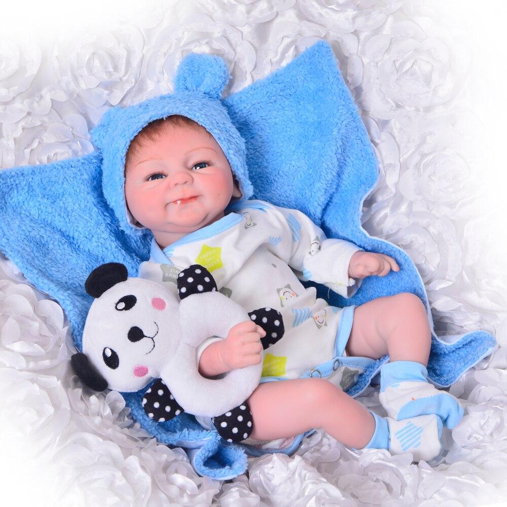 Быстрая доставка KEIMUMI 17 дюймов Reborn Baby Doll Twins реалистичные мягкие куклы для малышей Детские игрушки подарок Испания склад