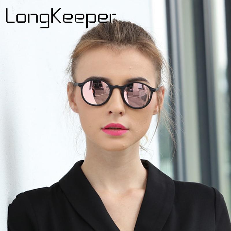 2018 унисекс поляризационные солнцезащитные очки мужские и женские винтажные круглые крутые солнцезащитные очки UV400 антибликовые модные бре...