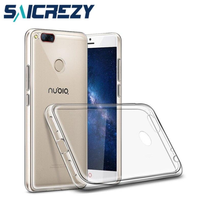 Para ZTE Nubia Z17 mini S funda Nubia Z11 Z18 Mini Axon 7 Z17 Lite N2 N3 M2 suave funda de silicona para teléfono