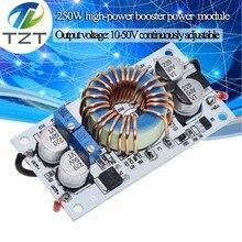 TZT DC-DC دفعة محول تيار مستمر موبايل امدادات الطاقة 10A 250 واط LED سائق خطوة حتى وحدة