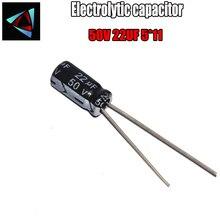 26 pièces de haute qualité 50V 22UF 5*11mm 22UF 50V 5*11 condensateur électrolytique
