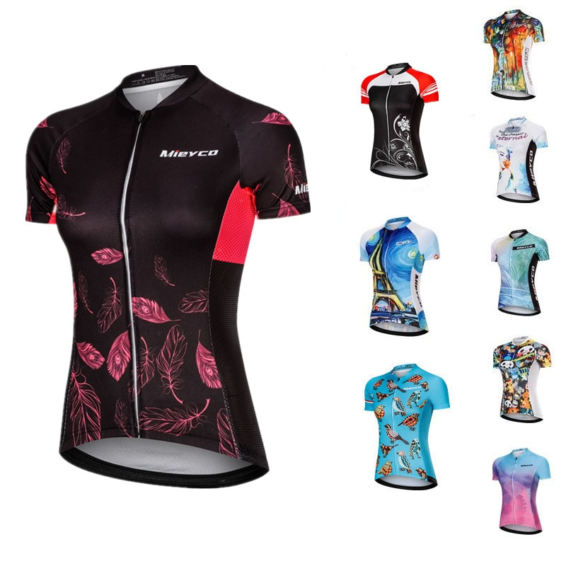 Maillot de Ciclismo para Mujer, camiseta de manga corta para Ciclismo de...