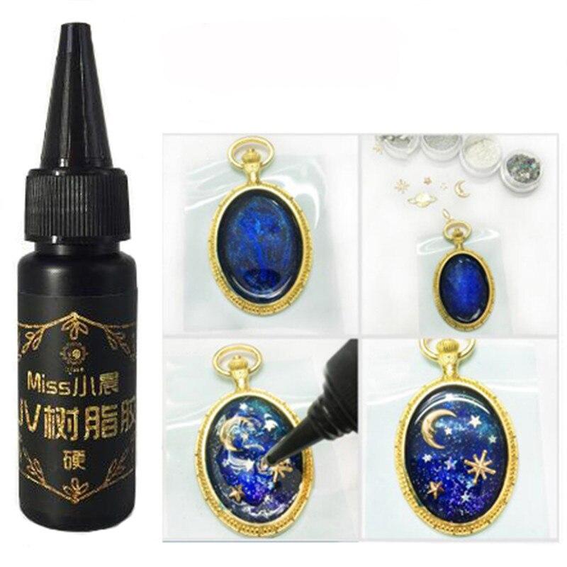UV Resin Ultraviolet Curing Resin resina 25g Solar Cure Resin Sunlight Activated DIY Jewelry Making эпоксидная смола
