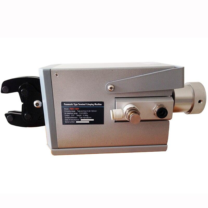 YOUSAILING calidad FEK-120Y neumática máquina de prensado de aire para diferentes terminales herramientas de Cable herramienta de engarzado de alambre