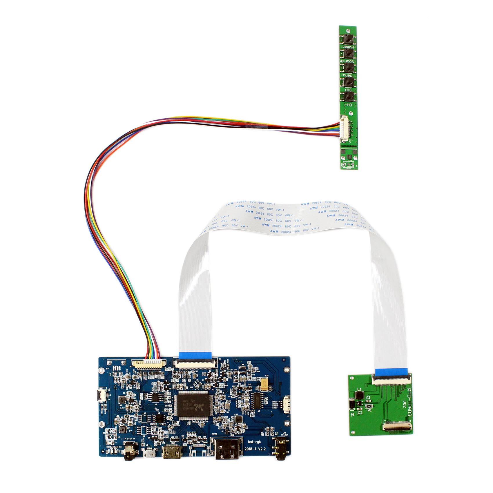 "HDMI ЖК-плата драйвера для 9,7 ""2048x1536 LTL097QL01 HQ097QX1 LP097QX1 IPS LCD"