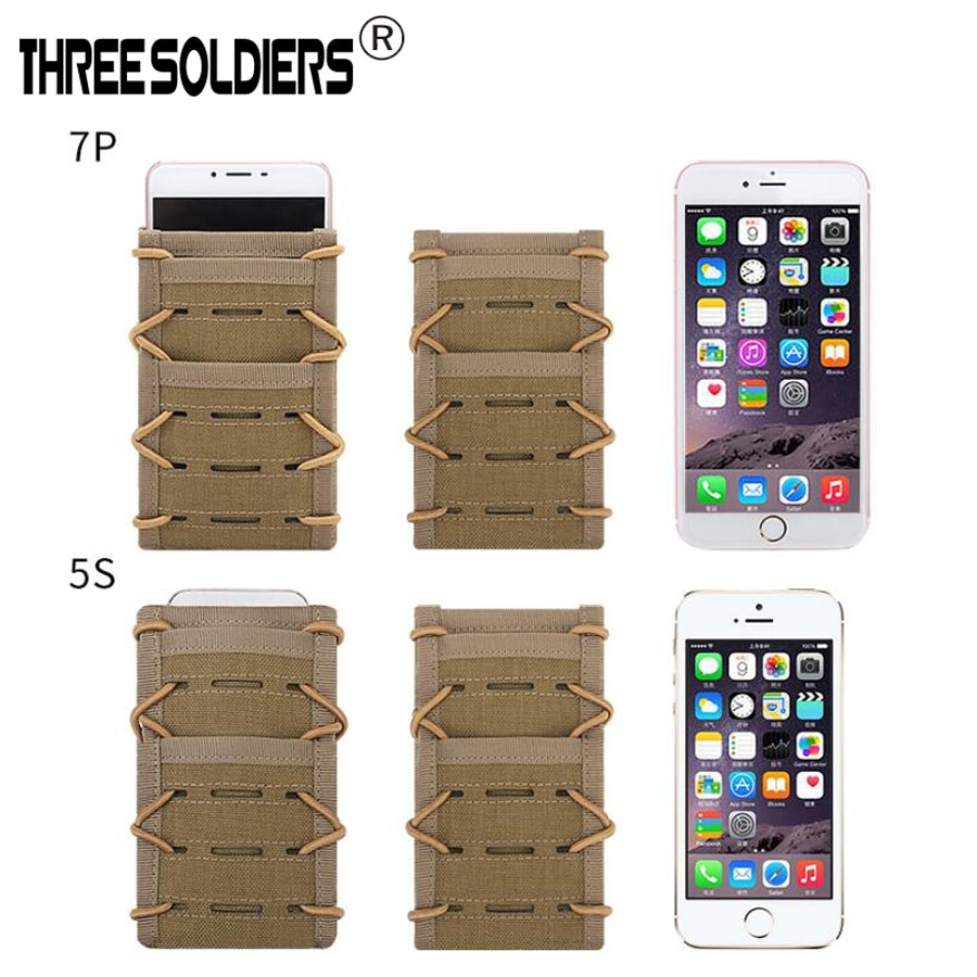 Outdoor tactical tension can be adjusted to the Molle cellphone for Molle Military 1000D nylon Waist Bag Fanny Pack Mobile Phone