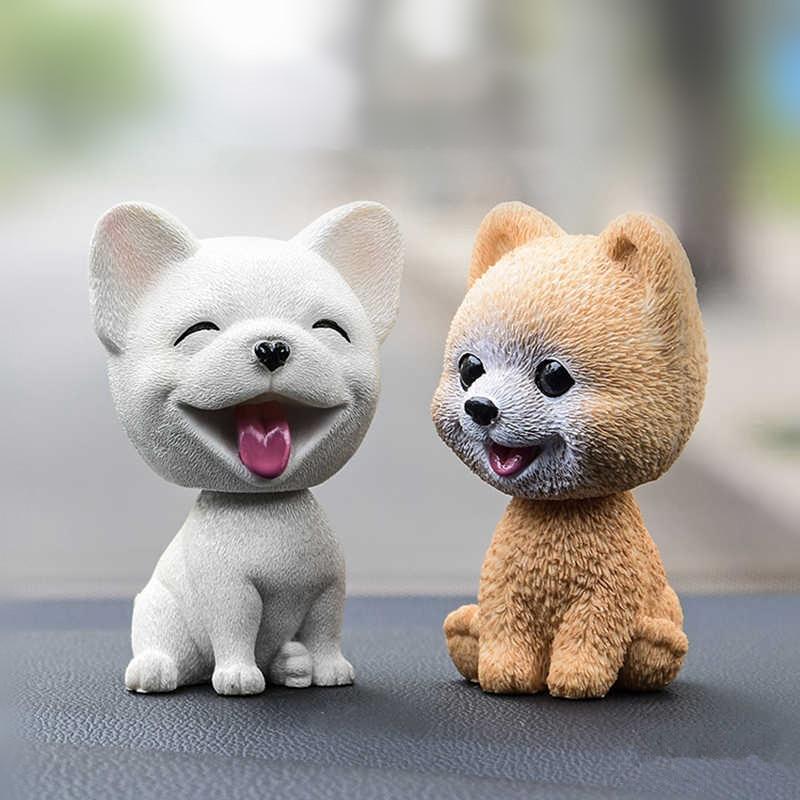 Автомобильные украшения Милая голова встряхивания собака кукла Автомобильная приборная панель украшение щенок игрушки милый авто Декор интерьера аксессуары Подарки